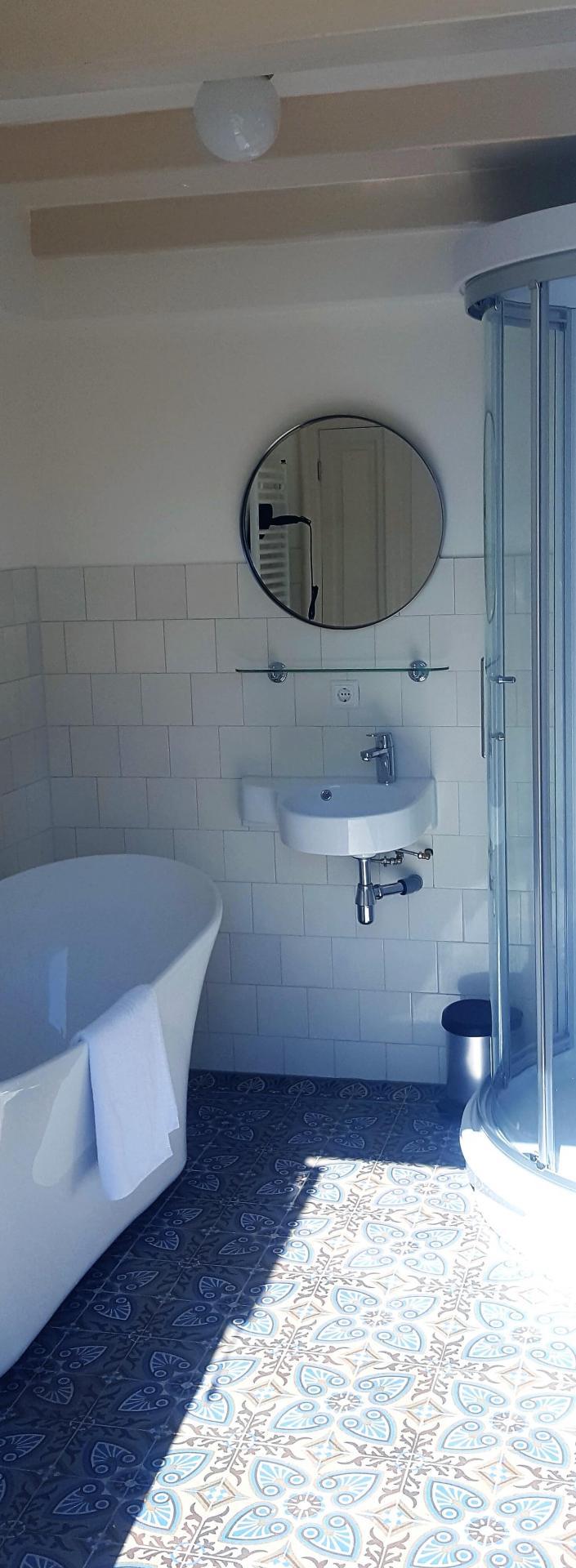 Sink at 23 Haarlemmplein Apartments, Amsterdam