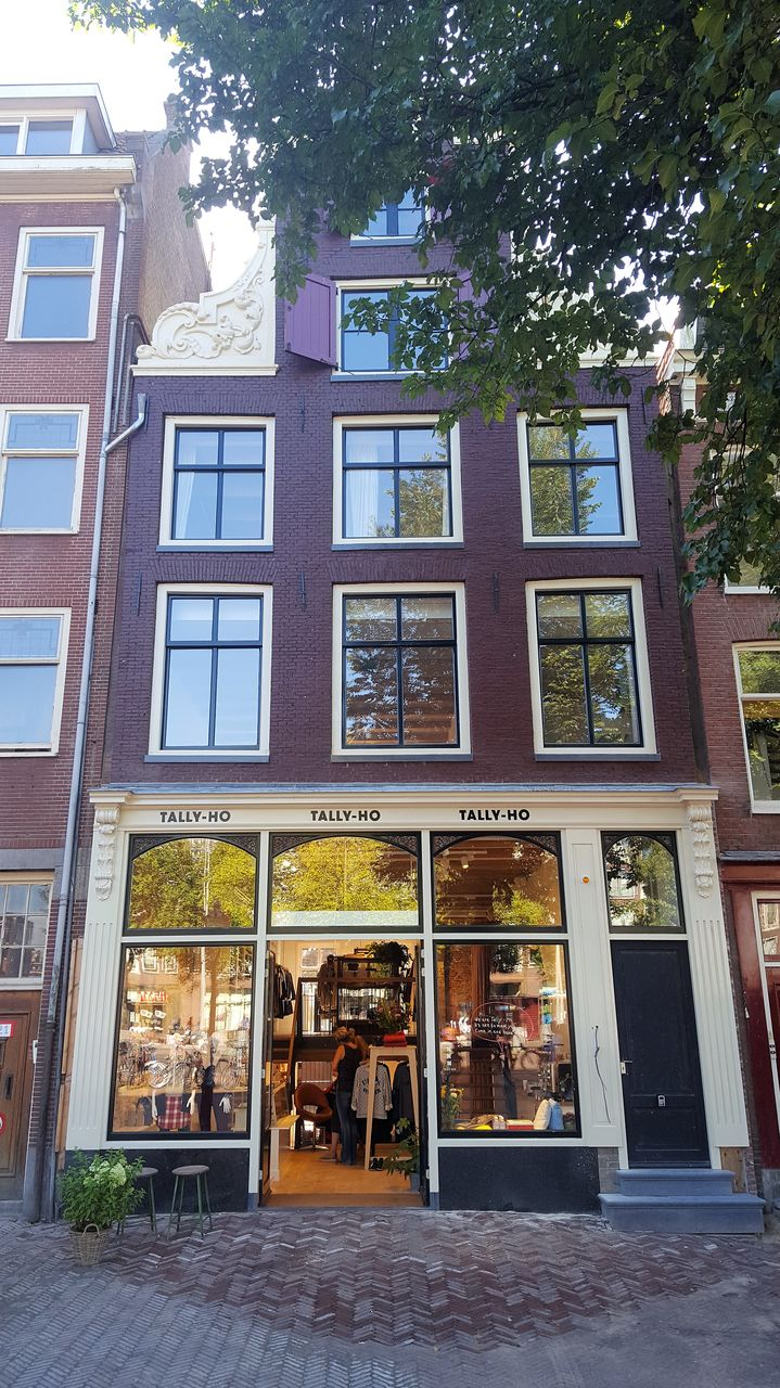 Exterior at 23 Haarlemmplein Apartments, Amsterdam