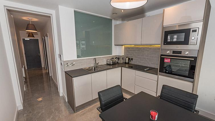 Kitchen at Gallery at the Dublin Road Apartments