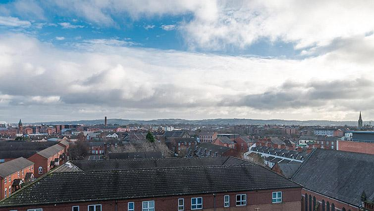 View from Gallery at the Dublin Road Apartments