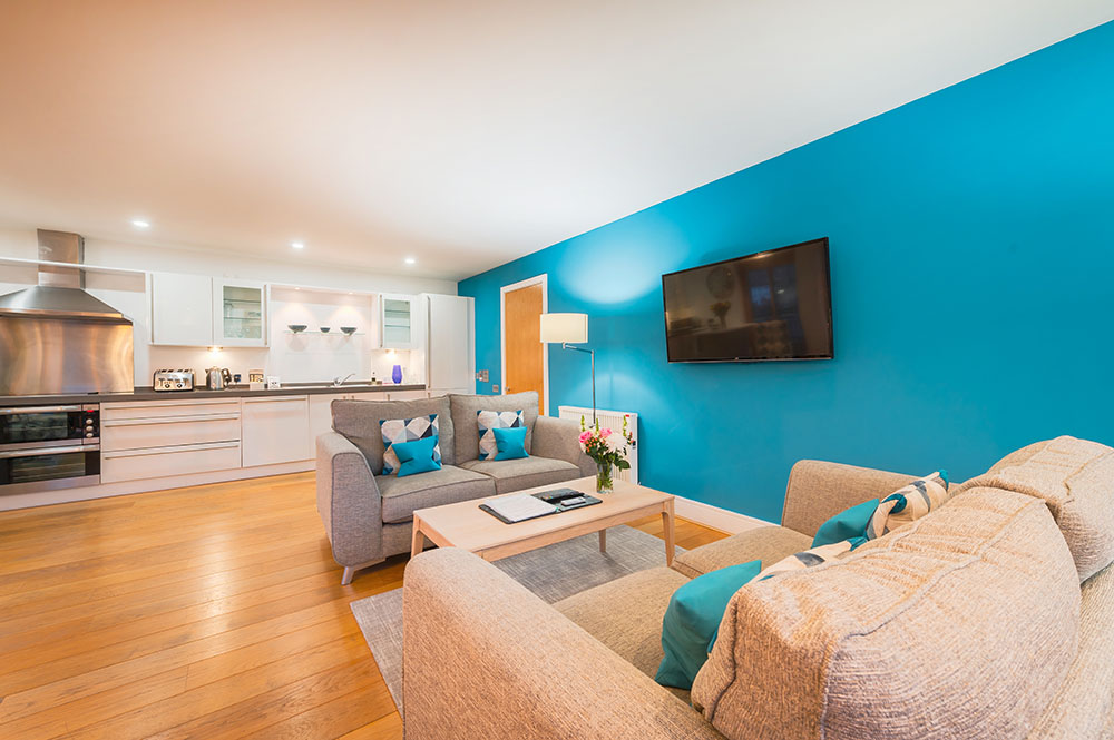 TV at Highland Apartments, Centre, Inverness