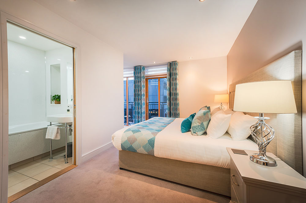 Bedroom at Highland Apartments, Centre, Inverness