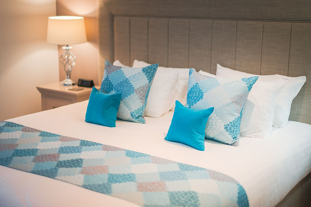 Bed at Highland Apartments, Centre, Inverness