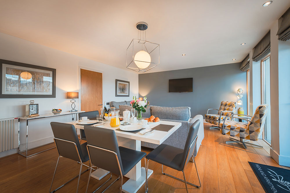 Dining at Highland Apartments, Centre, Inverness