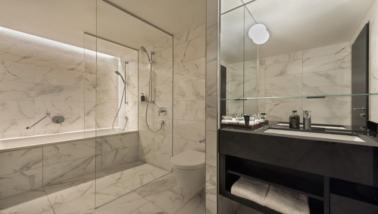Bathroom at Adina Apartment Hotel Frankfurt Westend