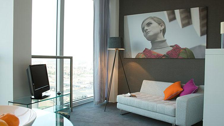 Compact studio apartment at Staying Cool at The Rotunda