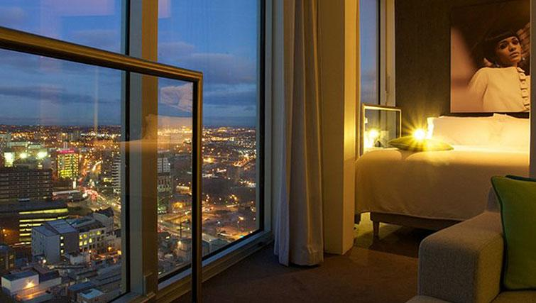Double bedroom at Staying Cool at The Rotunda