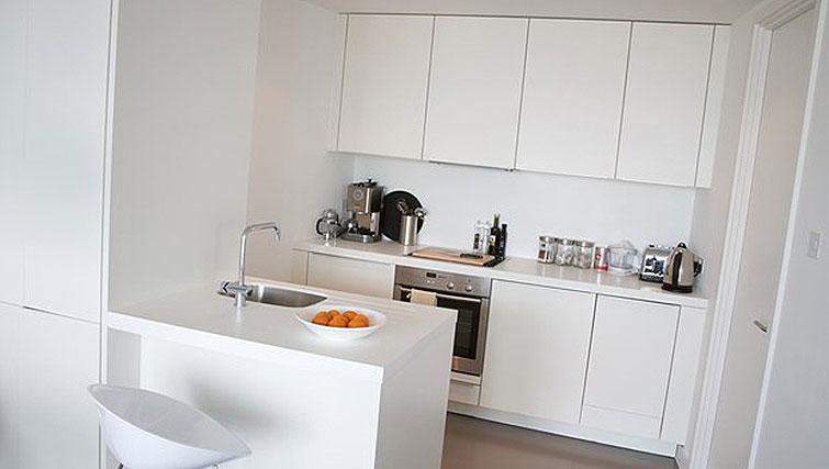 Modern kitchen at Staying Cool at The Rotunda