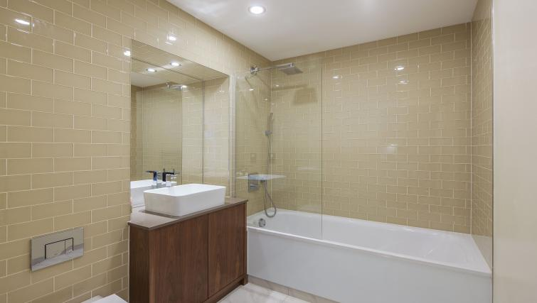 Bathroom at 3 Lincoln Plaza Apartments