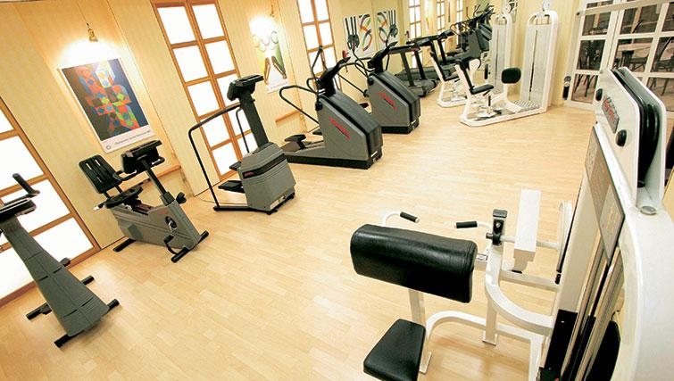 Fitness centre at Living Hotel Kaiser Franz Joseph Apartments