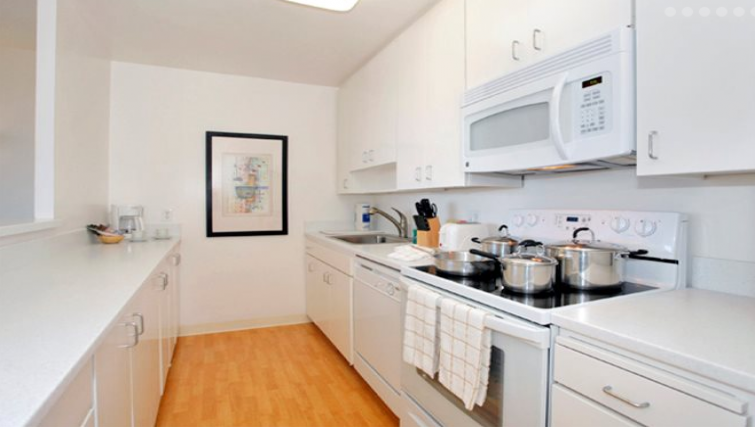 Kitchen at The Gateway Apartment