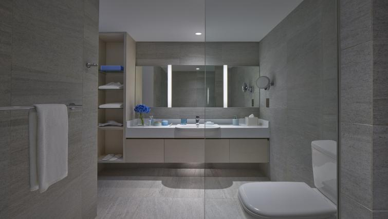 Bathroom at the Winsland Apartments, Singapore