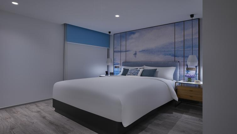 Bedroom at the Winsland Apartments, Singapore