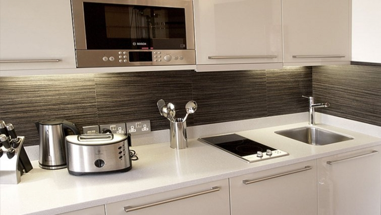 Modern kitchen in Space Apartments