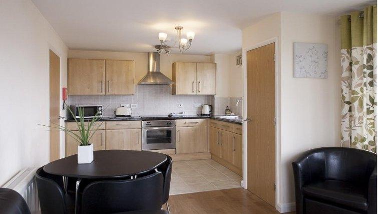 kitchen in The Cheltenham Plaza Apartments