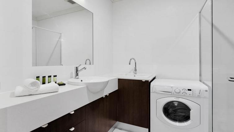 Bathroom at Attika Apartments