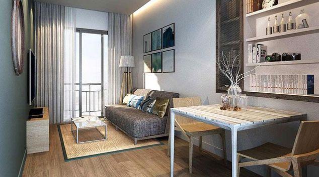 Living area at Oakwood Sri Racha Apartments