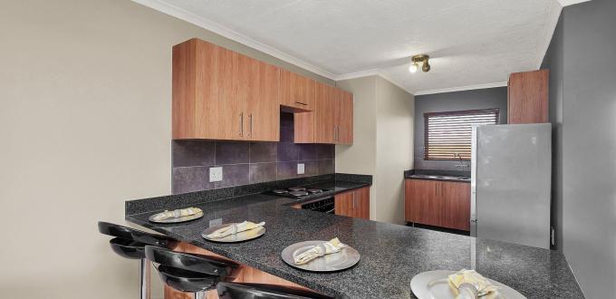 Fresh kitchen in ExecutiveTwelve Apartments