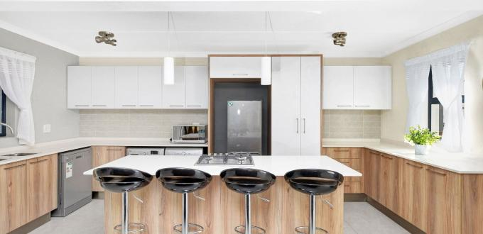 Modern Kitchen in ExecutiveTwelve Apartments