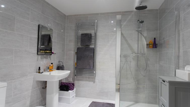 Bathroom at Cotels at 7Zero1 Apartments
