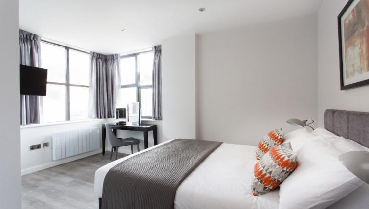 Double bedroom at Cotels at 7Zero1 Apartments
