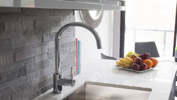 Kitchen facilities at Cotels at 7Zero1 Apartments