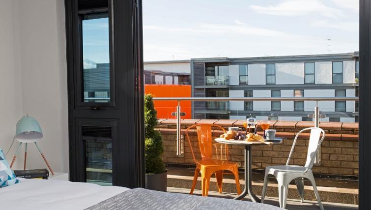 Balcony at Cotels at 7Zero1 Apartments