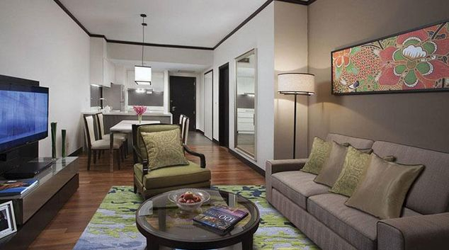 Living area at Ascott Kuala Lumpur No 9 Apartments