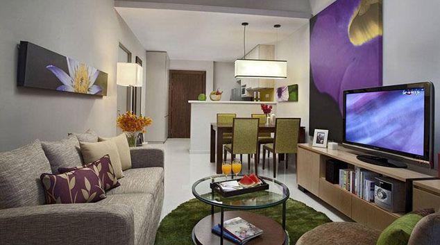 Living area at Somerset Kuala Lumpur Apartments