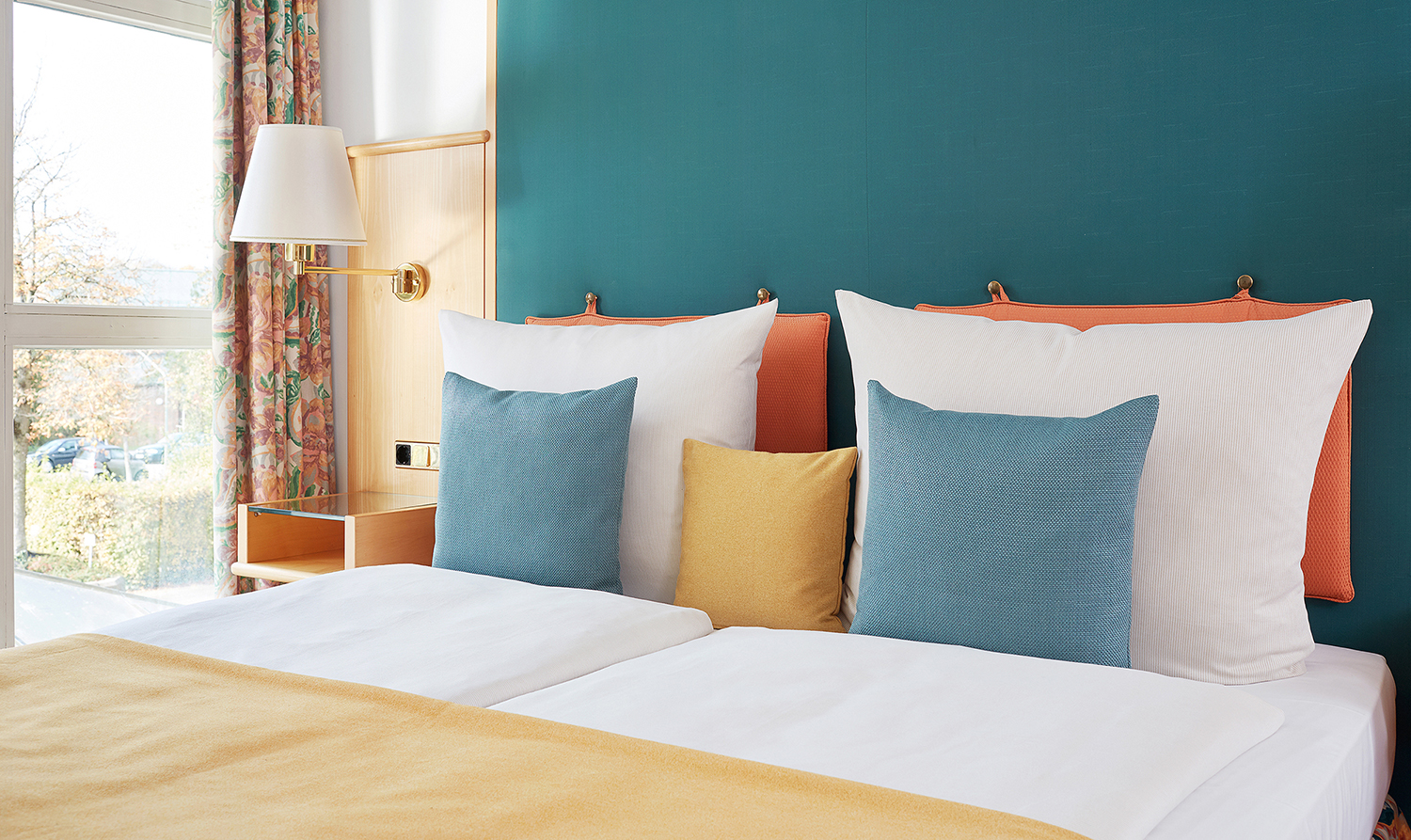Pillows at Living Hotel Olympiapark Apartments