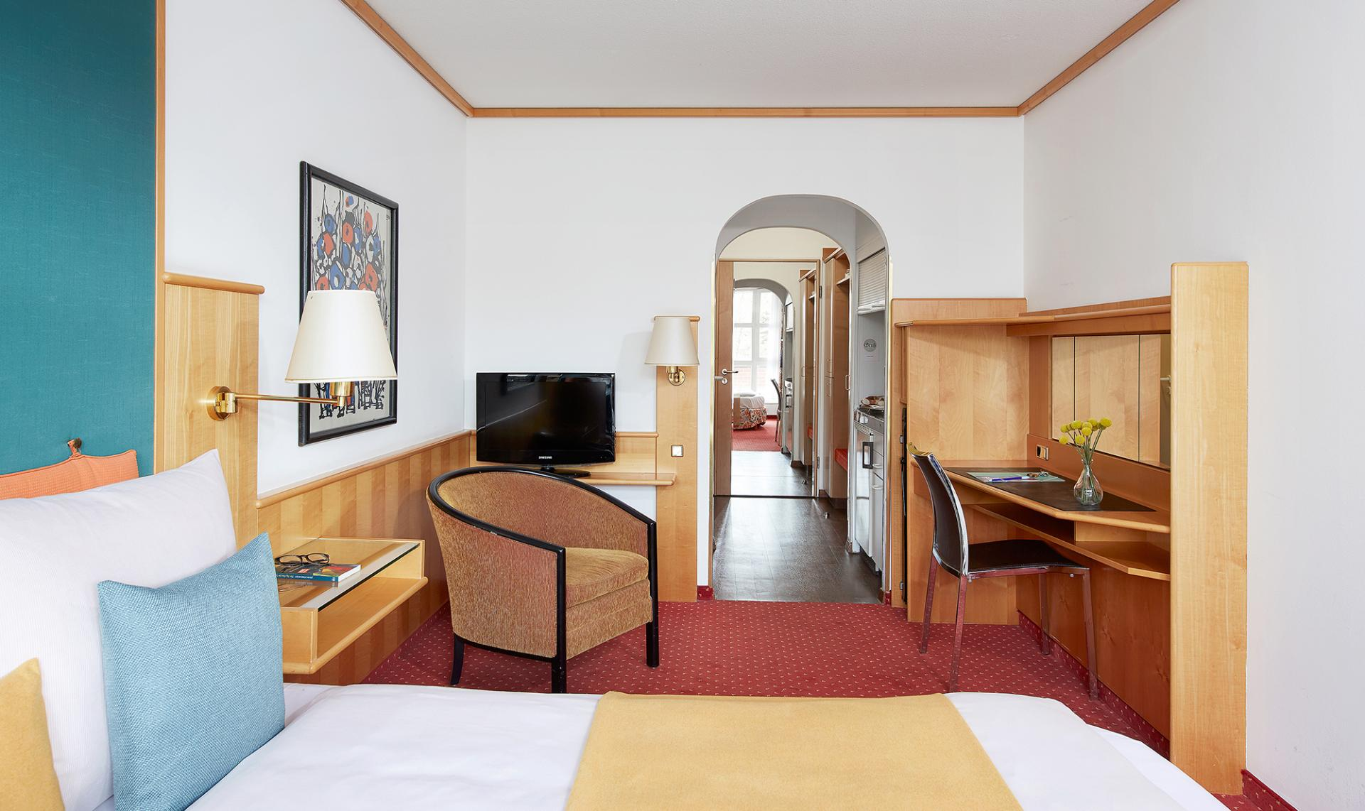 Hall at Living Hotel Olympiapark Apartments
