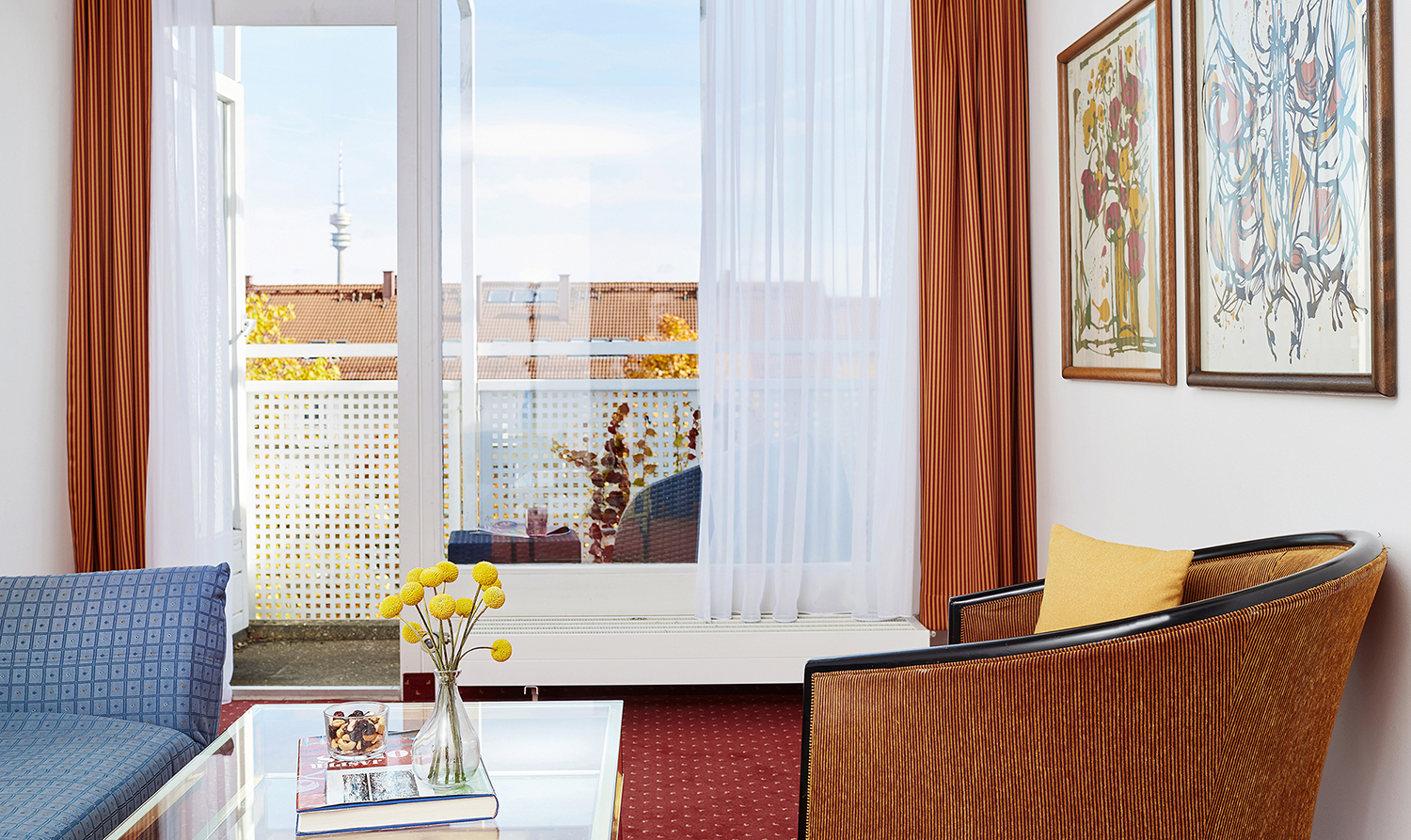 Window at Living Hotel Olympiapark Apartments