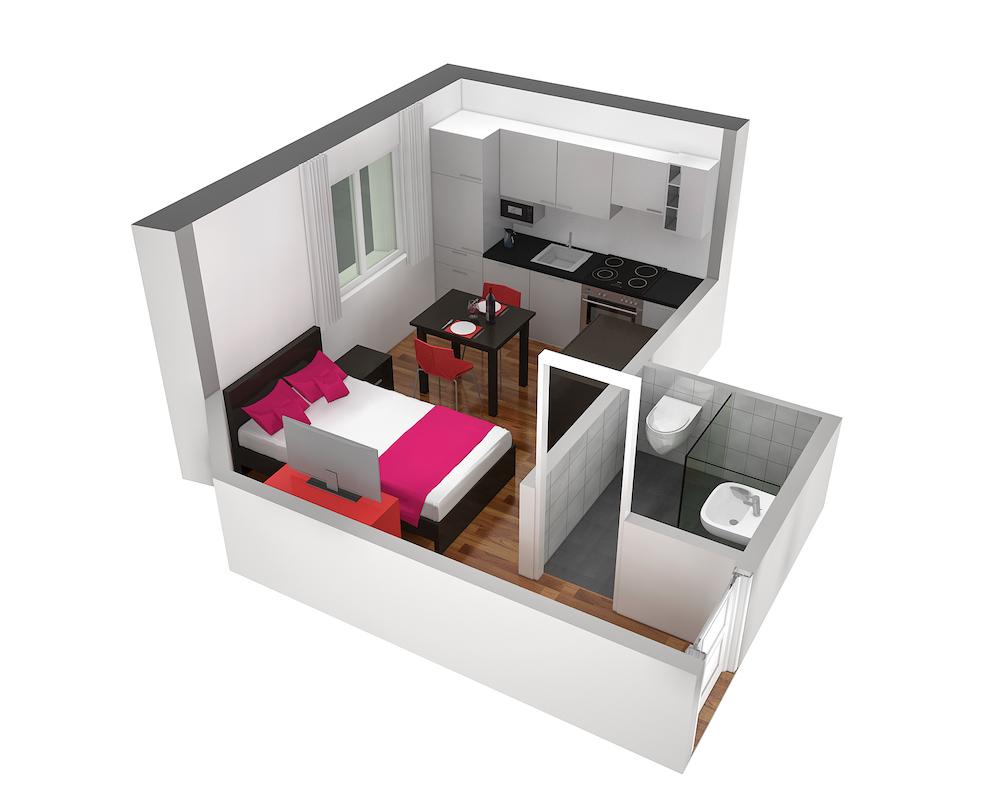 Floorplan 2 at  Oerlikon Apartments