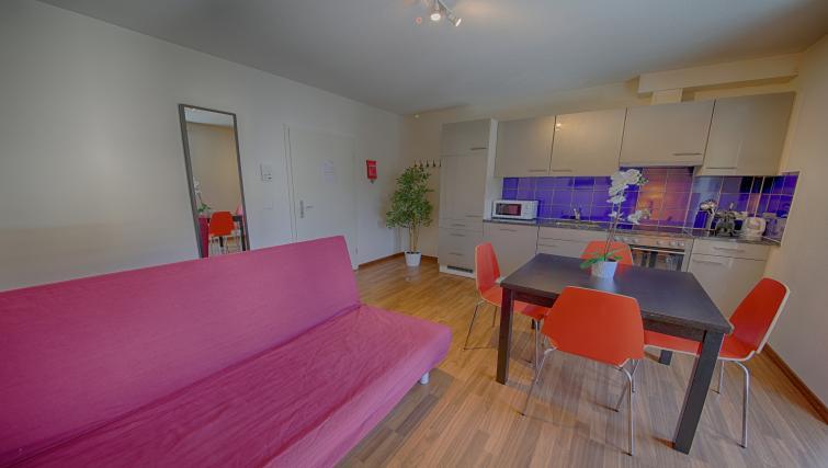 Sofa at the Oerlikon Apartments