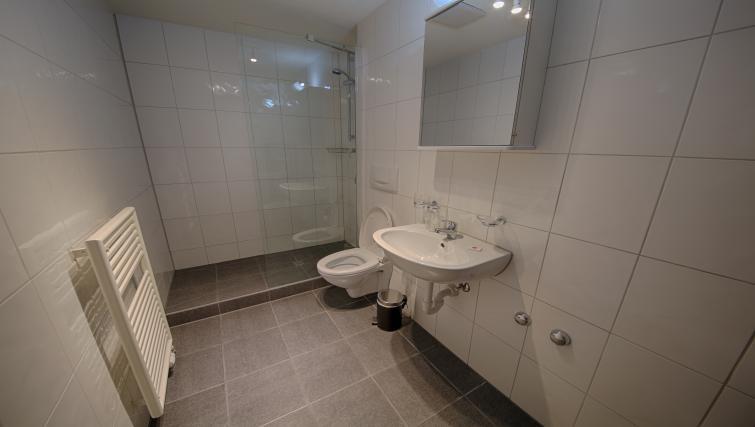 Bathroom at the Oerlikon Apartments