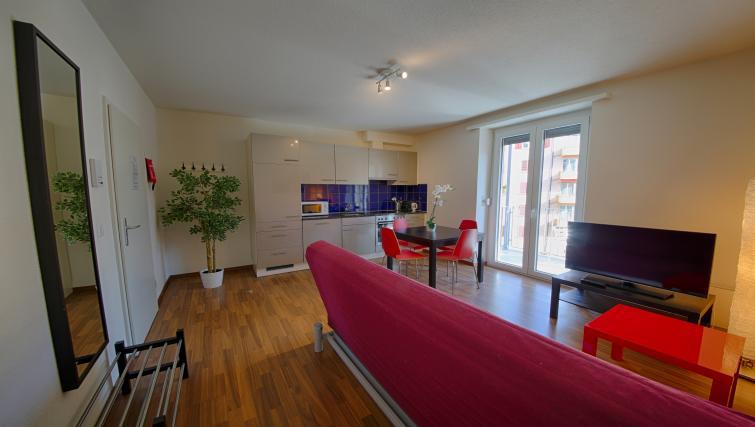 Furnishings at the Oerlikon Apartments