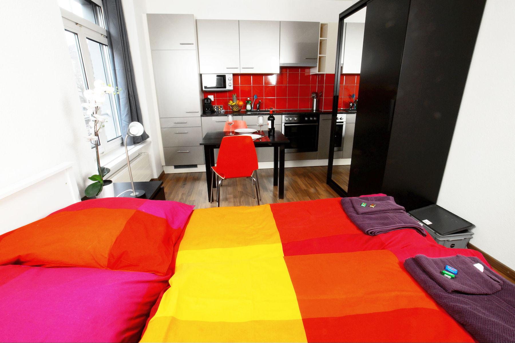 Studio apartment at  Oerlikon Apartments