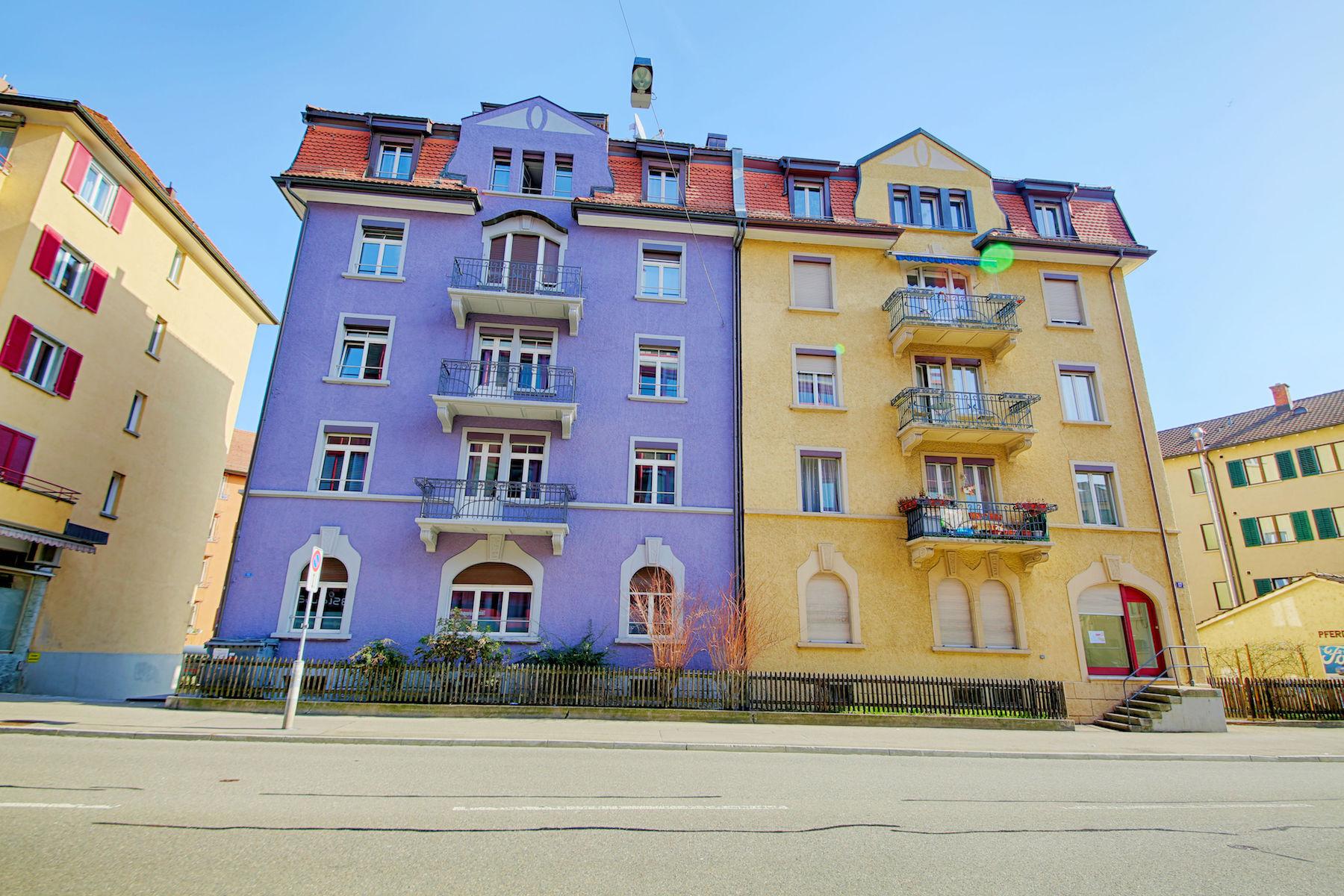 Exterior at  Oerlikon Apartments