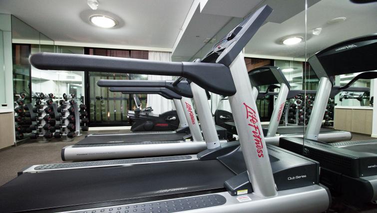 Gym at Fraser Place Melbourne