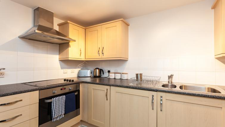 Kitchen at Finley Court Apartments