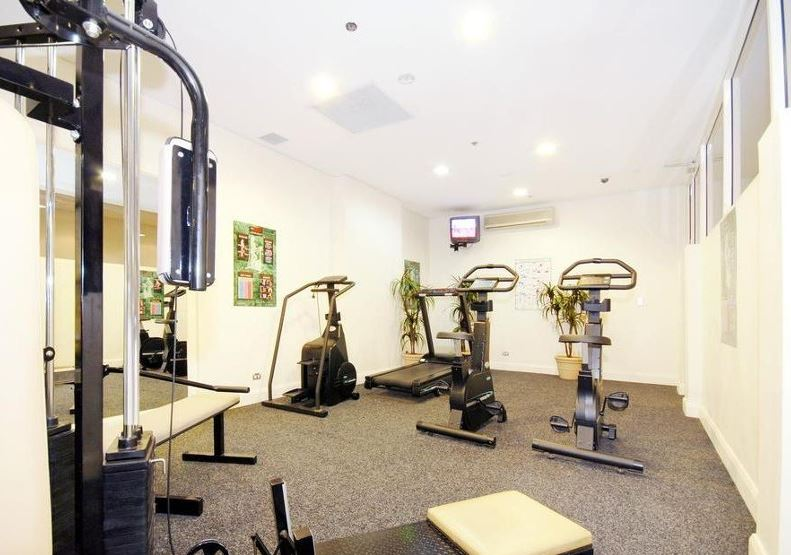 Gym at Downtown Apartments
