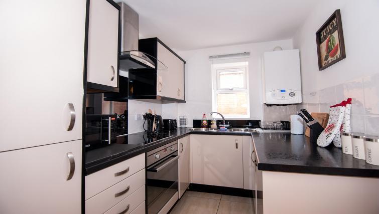 Kitchen at Manor Apartments