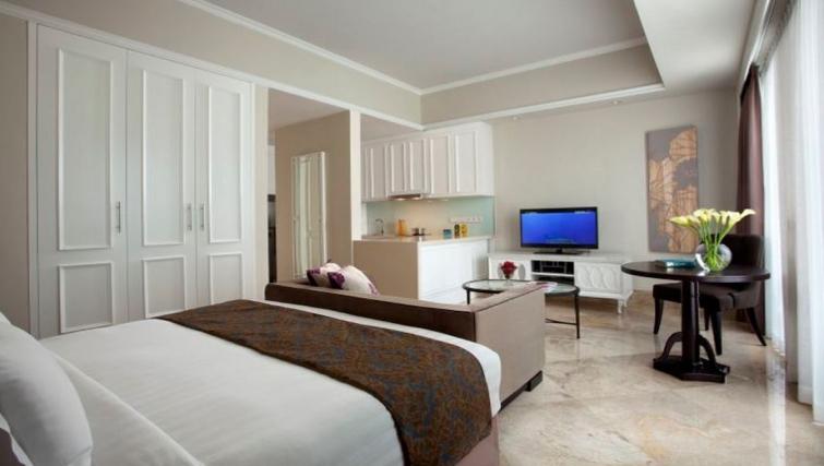 Classy living area in Ascott Jakarta Apartments