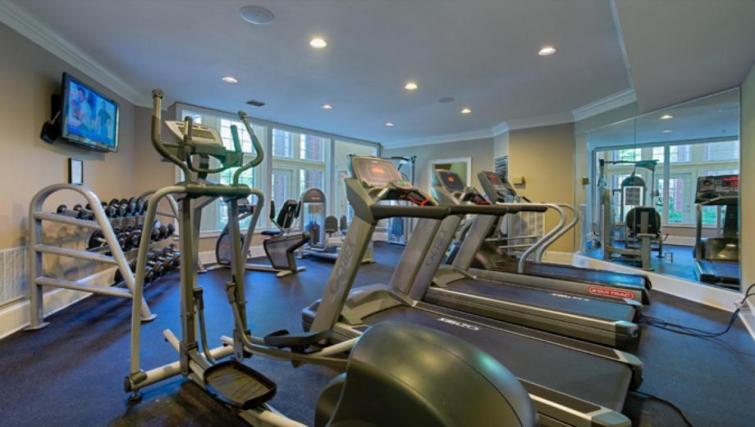 Gym at the Camden Phipps Apartments