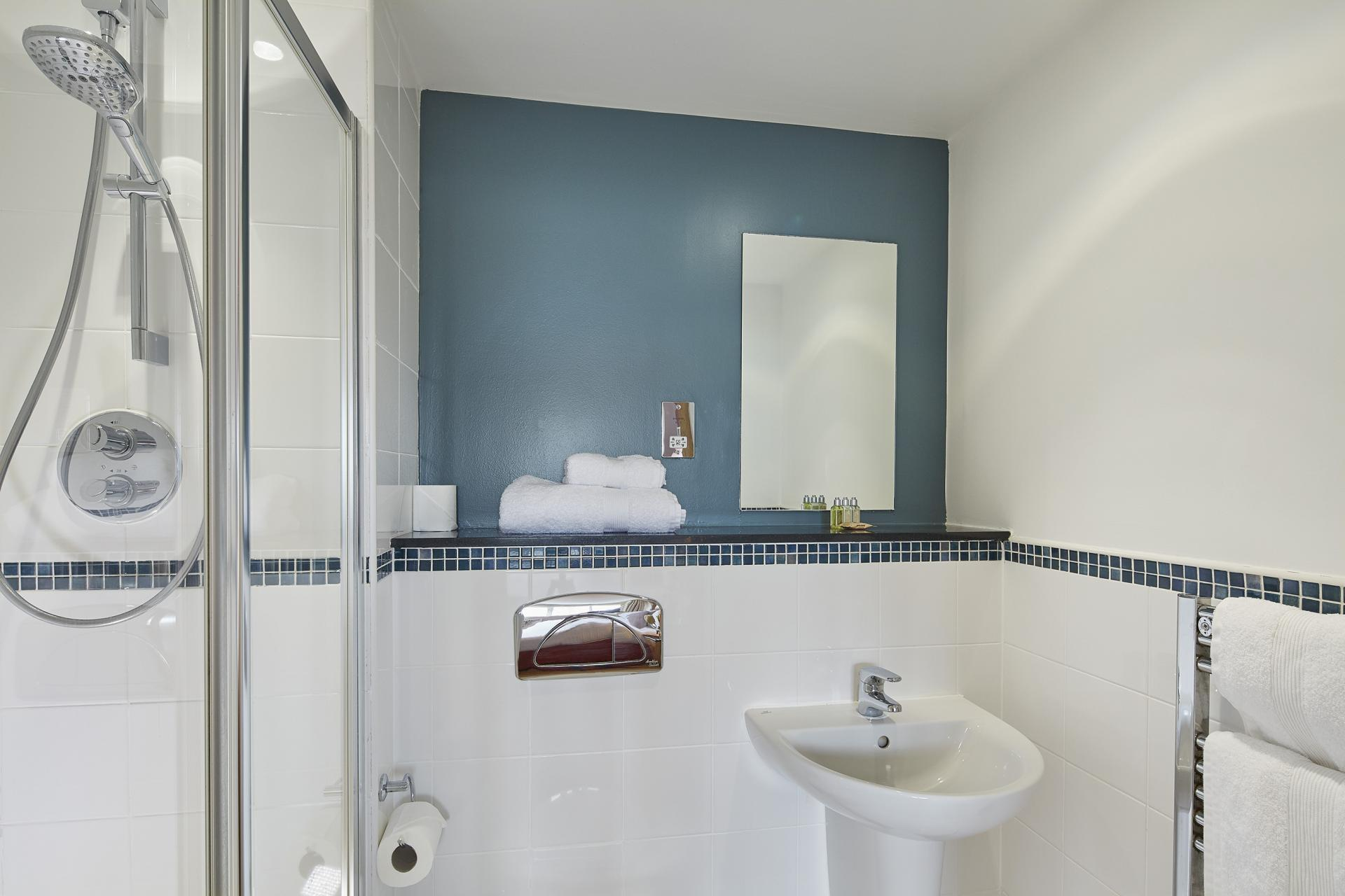 Bathroom at Limehouse Apartments, Limehouse, London