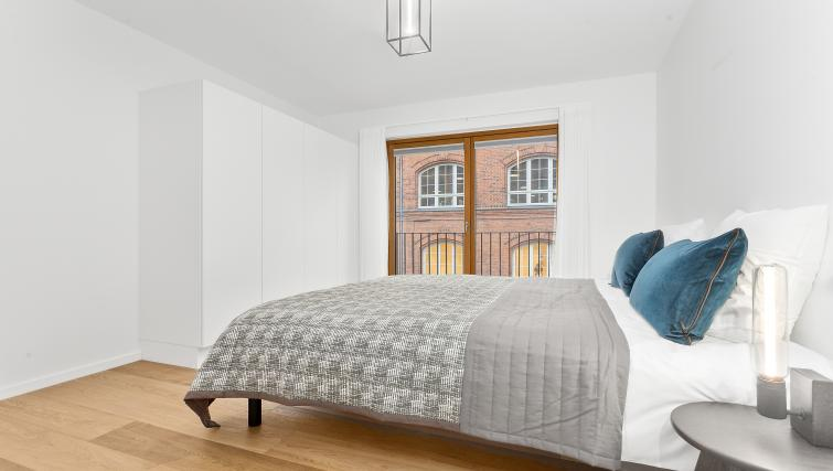 Bed at the STAY Kastellet Apartments