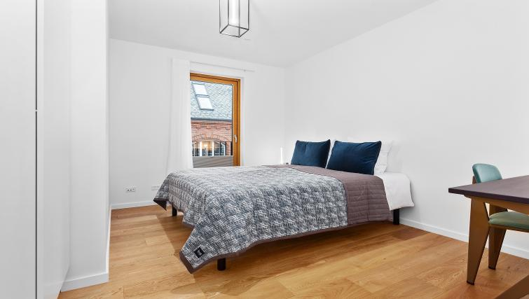 Comfortable bedding at the STAY Kastellet Apartments