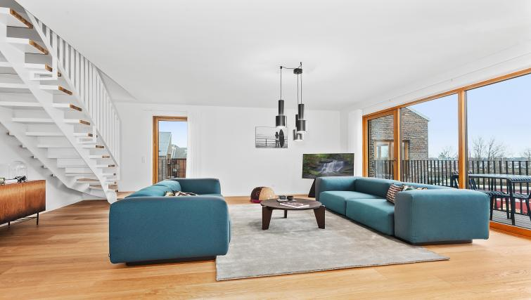 Living area at the STAY Kastellet Apartments