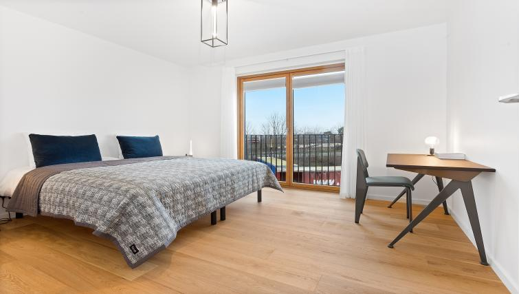 Cosy bedroom at the STAY Kastellet Apartments