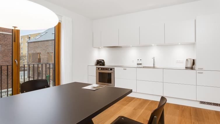 Kitchen at the STAY Kastellet Apartments